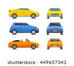 car vehicle transport isolated... | Shutterstock .eps vector #449657341
