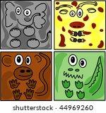 vector illustration square... | Shutterstock .eps vector #44969260