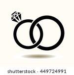 vector illustration of wedding... | Shutterstock .eps vector #449724991