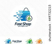 Shopping Logo Design Vector  ...