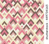 seamless vector geometric... | Shutterstock .eps vector #449734165