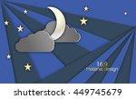 vector illustration  of night...