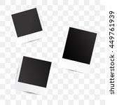 Polaroid photo frames.