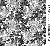 watercolor seamless pattern... | Shutterstock . vector #449765815