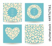 Set Of Four Vector Backgrounds...