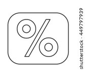 percentage symbol financial...