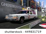 ecto 1 at the world premiere of ... | Shutterstock . vector #449831719