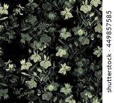Imprints Meadow Flowers. Hand...