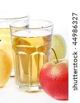 fresh apple juice   Shutterstock . vector #44986327
