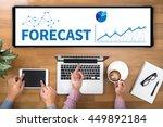 forecast   estimate future...   Shutterstock . vector #449892184