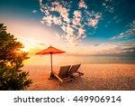beautiful beach background for... | Shutterstock . vector #449906914