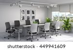 office interior. 3d illustration | Shutterstock . vector #449941609