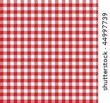 Red Gingham Pattern Picnic...