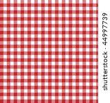 Red Picnic Table Cloth  Plaid ...