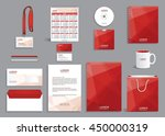 business stationery set... | Shutterstock .eps vector #450000319