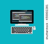 programming or coding on...