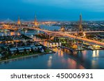 bangkok capital city in the... | Shutterstock . vector #450006931