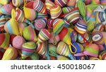 wallet weave make from colorful ... | Shutterstock . vector #450018067