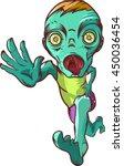 running zombie.    Shutterstock . vector #450036454