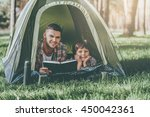 spending quality time together. ... | Shutterstock . vector #450042361