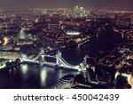 London Aerial View Panorama At...