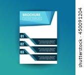 vector design for cover report... | Shutterstock .eps vector #450091204