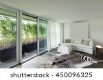 comfortable living room ... | Shutterstock . vector #450096325
