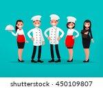 Restaurant Team. Chef  Cook ...