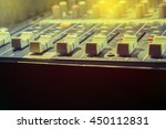 the music control station.... | Shutterstock . vector #450112831