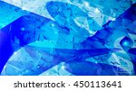 grunge blue abstract vector... | Shutterstock .eps vector #450113641