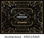 happy new year and merry... | Shutterstock .eps vector #450115465