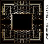 geometric template vector... | Shutterstock .eps vector #450115471