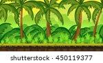 tropical jungles landscape for...