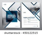 layout template for brochure... | Shutterstock .eps vector #450122515