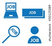 job icons | Shutterstock .eps vector #450125389