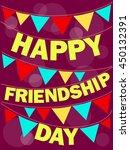 happy friendship day   Shutterstock .eps vector #450132391