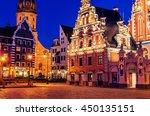 riga  latvia  representative... | Shutterstock . vector #450135151
