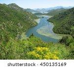 montenegro. beautiful landscape.... | Shutterstock . vector #450135169