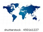 world map vector | Shutterstock .eps vector #450161227