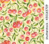 seamless pattern with... | Shutterstock . vector #450165709