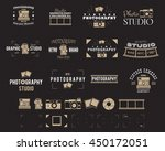 camera logo. vintage...