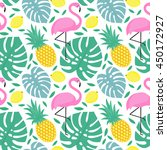 seamless decorative pattern...   Shutterstock .eps vector #450172927