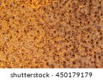 corroded  metal background.  | Shutterstock . vector #450179179
