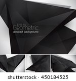 geometric abstract background.... | Shutterstock .eps vector #450184525