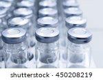 glass vials for liquid samples. ... | Shutterstock . vector #450208219