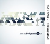 awesome geometric background...   Shutterstock .eps vector #450217141