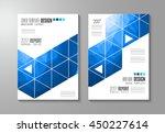 brochure template  flyer design ... | Shutterstock .eps vector #450227614