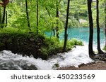waterfall | Shutterstock . vector #450233569