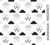 scandinavian seamless pattern.... | Shutterstock .eps vector #450235675