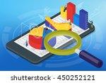 isometric infographics on the...